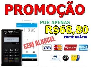 * PROMOÇÃO! Maquininha MercadoPago Point Mini por apenas R$68,00 ou em até 12x de R$5,73 Sem Juros!